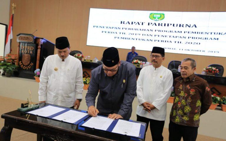 Gelar Rapat Paripurna, DPRD Kota Madiun Bahas Propemperda 2019/2020